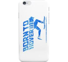 Born To Hover Blue (Distressed) iPhone Case/Skin