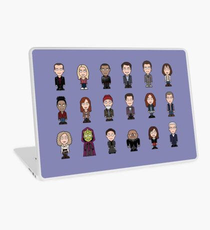 New Who Doctors and Companions (case/skin) Laptop Skin
