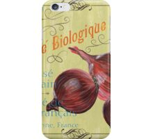 Marche Biologique Monde iPhone Case/Skin