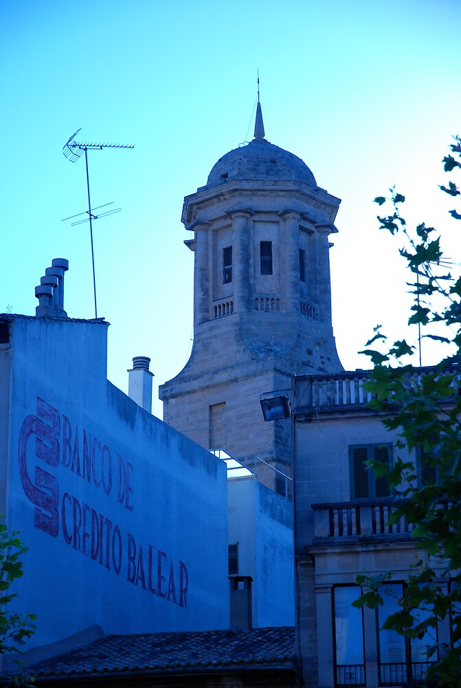 Downtown Llucmajor by Eugenia