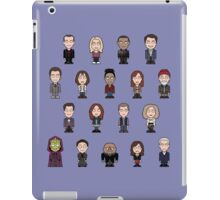 New Who Doctors and Companions (case/skin) iPad Case/Skin
