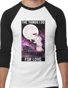 COURAGE - THE THINGS I DO FOR LOVE Men's Baseball ¾ T-Shirt