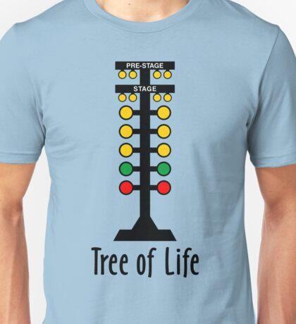 Drag Racing Tree of Life Unisex T-Shirt