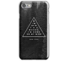 Woods -- Bon Iver iPhone Case/Skin