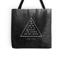 Woods -- Bon Iver Tote Bag