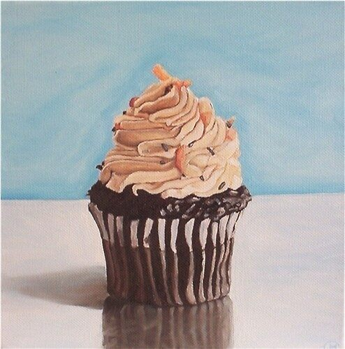 Chocolate Cupcake by Claymen