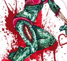 Zombie Girl Sticker