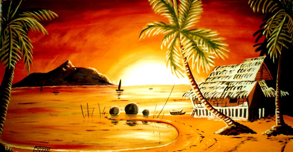 Tropical Sunset by Rhapsody