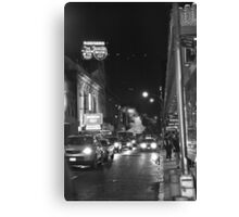 Movin' Out  Canvas Print