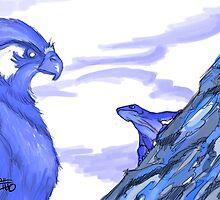 Blue wind Blew by Byruza