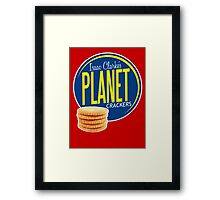 Isaac Clarke's Planet Crackers Framed Print