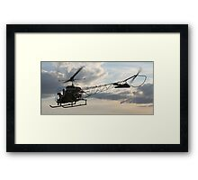 Into Action Framed Print