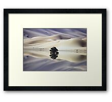 Blue Dunes Framed Print