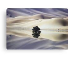 Blue Dunes Canvas Print