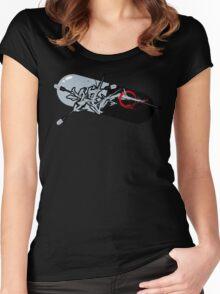 Virus Pill shirt Women's Fitted Scoop T-Shirt
