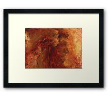 Painting of Native American - The Heritage  Framed Print