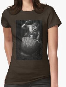 Baba Yaga Womens Fitted T-Shirt