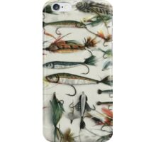 1920's Fishing Flies iPhone Case/Skin