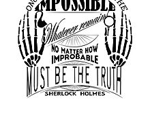 sherlock holmes belief by Leti Mallord