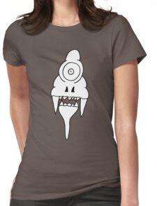 ICE CREAM SKULL Womens Fitted T-Shirt