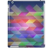 Triangles structure iPad Case/Skin