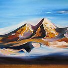 Golden Mountains by olgadmy
