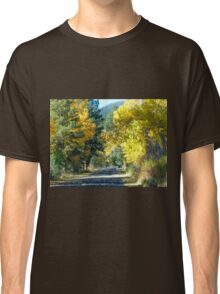 Road in the Woods Classic T-Shirt
