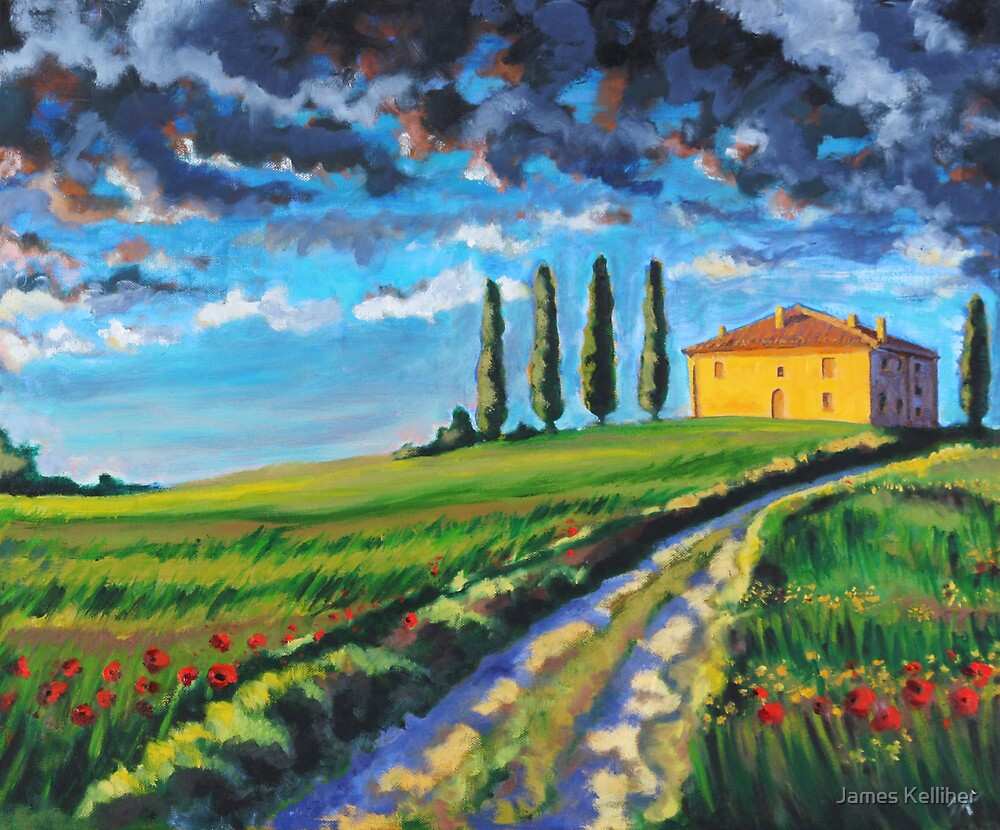 Tuscany by James Kelliher