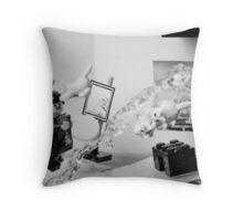 Dalí Atomicus Throw Pillow