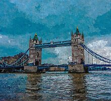 Artwork - Tower Bridge by ncp-photography