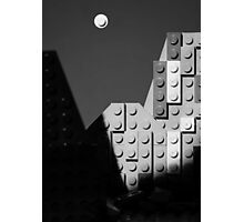 Moon and Half Dome Photographic Print