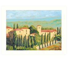 Castellina in Chianti Art Print