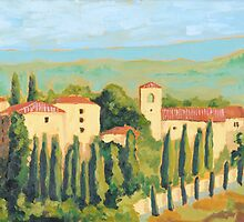 Castellina in Chianti by James Kelliher