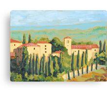 Castellina in Chianti Canvas Print