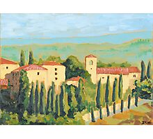 Castellina in Chianti Photographic Print
