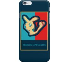 REBELLIS LEPUSCULUS iPhone Case/Skin