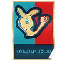 REBELLIS LEPUSCULUS Poster