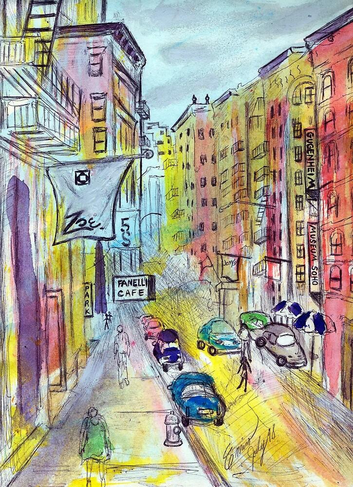 Soho, New York by Enrico Thomas