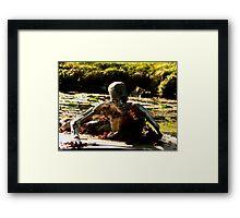 roboman Framed Print