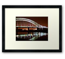 Runcorn Widnes Bridge Framed Print