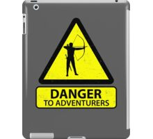 Danger to Adventurers iPad Case/Skin