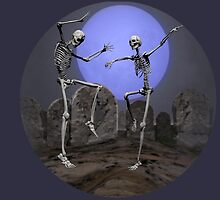 Dancing Skeletons by Carol and Mike Werner