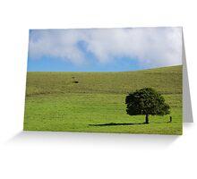 one lone tree Greeting Card