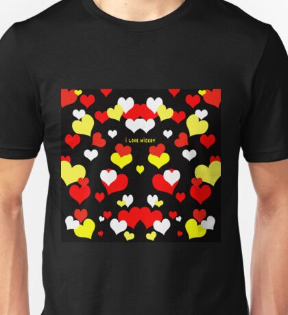 I Love Mickey Unisex T-Shirt