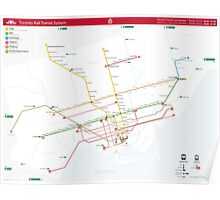 TTC System Map Poster