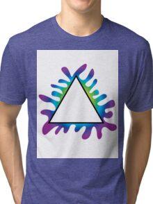 Triangle Splat Tri-blend T-Shirt