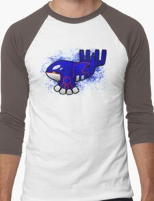 Kyogre Men's Baseball ¾ T-Shirt