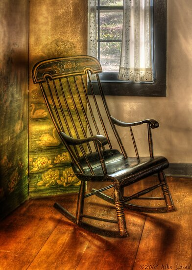 The rocking chair by Mike  Savad