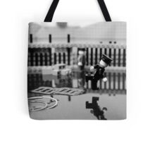 Behind the Gare Saint Lazare Tote Bag
