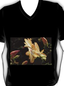 Christmas Cactus - White Swan Floral T-Shirt